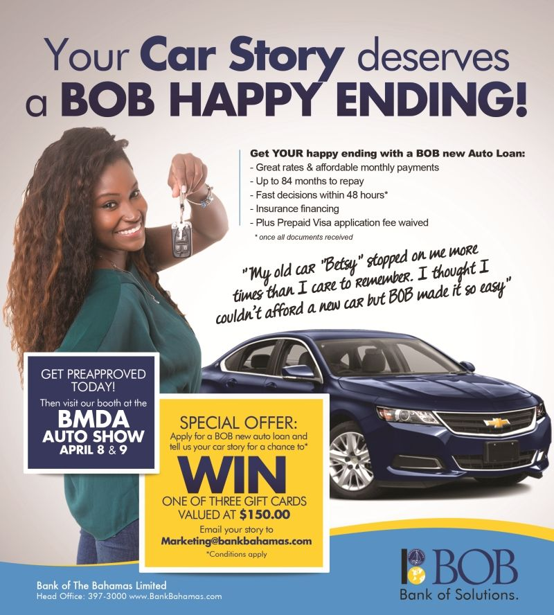 Fast Autoloan At Bank Of The Bahamas Low Rates Insurance