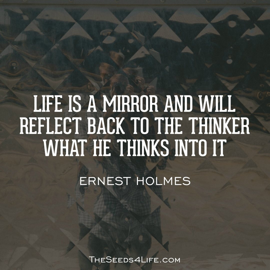 Life Quotes Mirror Reflection Theseeds4life Quotes Daily