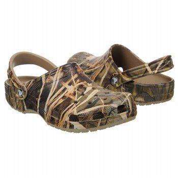Crocs Classic Realtree Shoes (Khaki) - Men's Shoes - 11.0 M