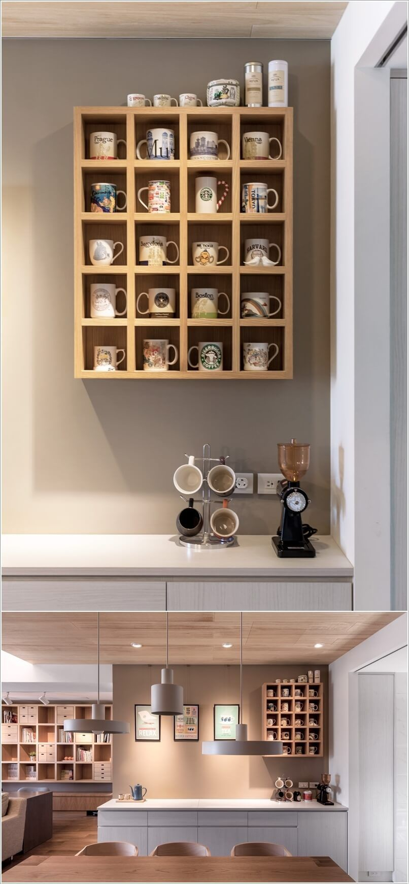Cool And Creative Mug Storage Ideas For Your Kitchen Mug Storage Storage House Diy Kitchen Storage