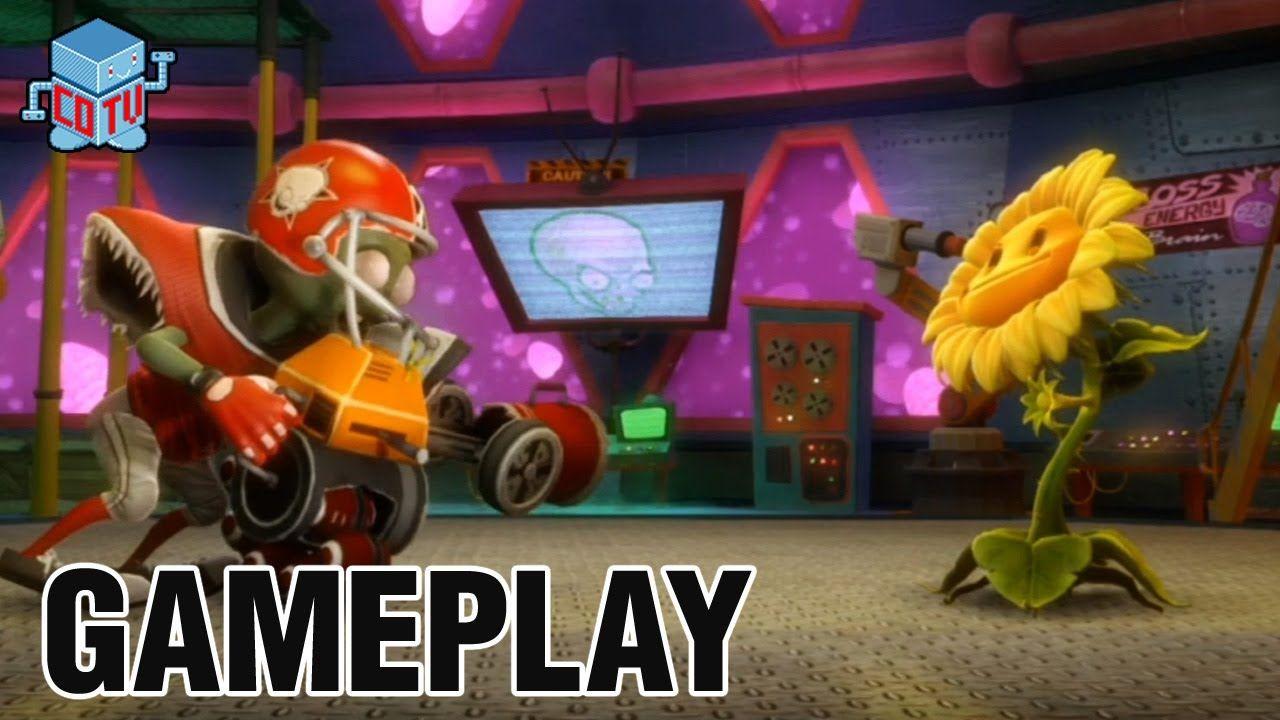 Plants Vs Zombies Garden Warfare Gameplay