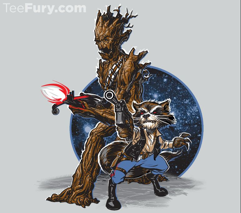 Soon In a Galaxy Nearby T-Shirt $11 Guardians of the Galaxy tee at TeeFury today only!