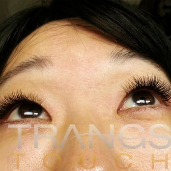 9ef635f298c Naturally noticeable lash extensions on Asian hooded monolid... thanks Jen!  - Yelp