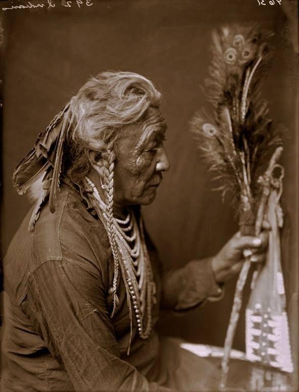 Crow man - circa 1910
