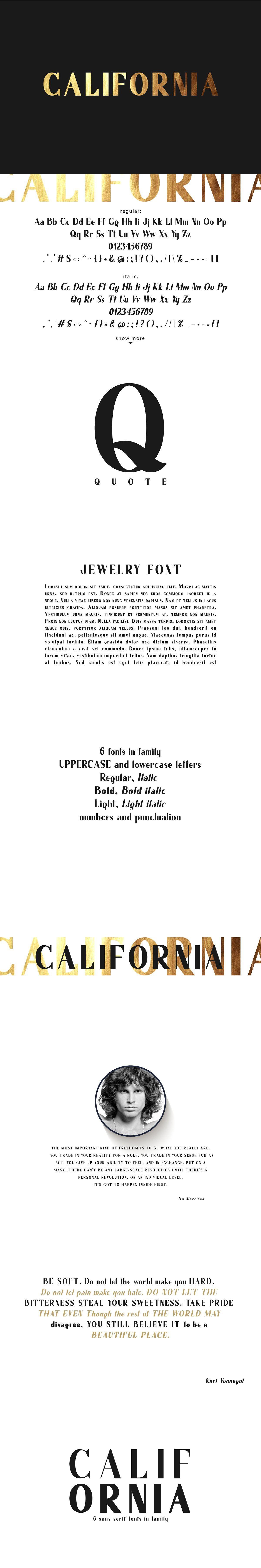 California. Sans serif family. in 2020 Sans serif, Web