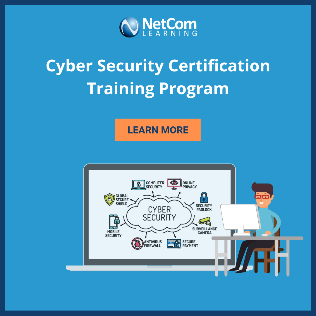 Cybersecurity Certification Training Program Cyber Security Cyber Security Certifications Training Programs