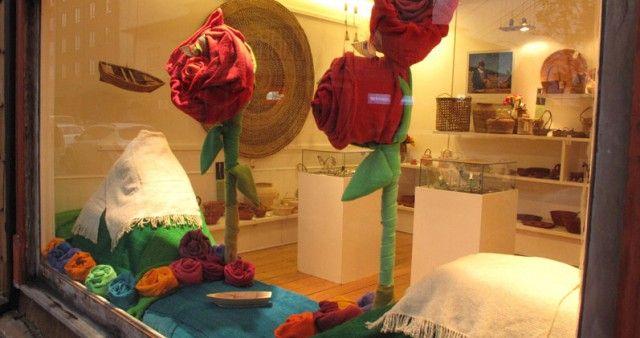 1º lugar en concurso de vitrinas del 2º Festival de la rosa en Puerto Varas,