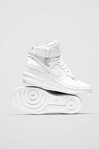 1cdd4aca03d6 Nike Lunar Force 1 Sky Hi - Lift comfort to a whole new level ...