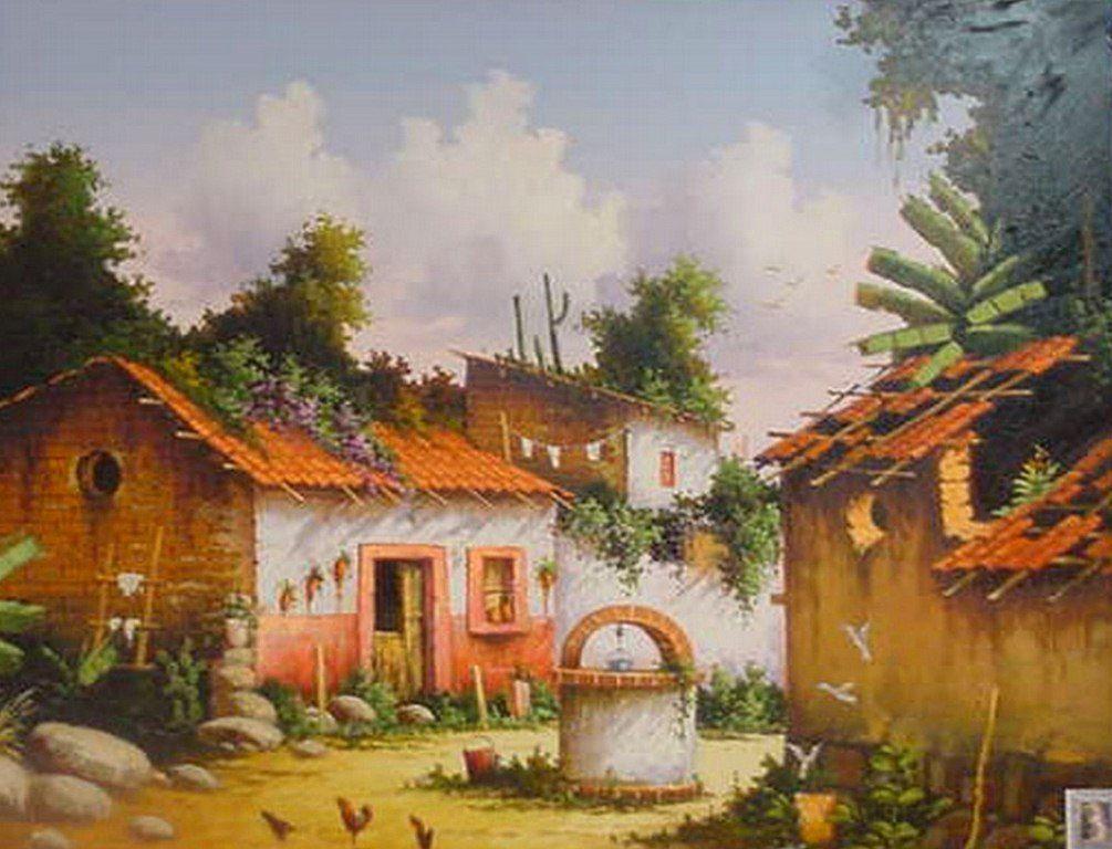 Paisajes mexicanos para pintar paisajes muy mexicanos - Cuadros para pintar en casa ...