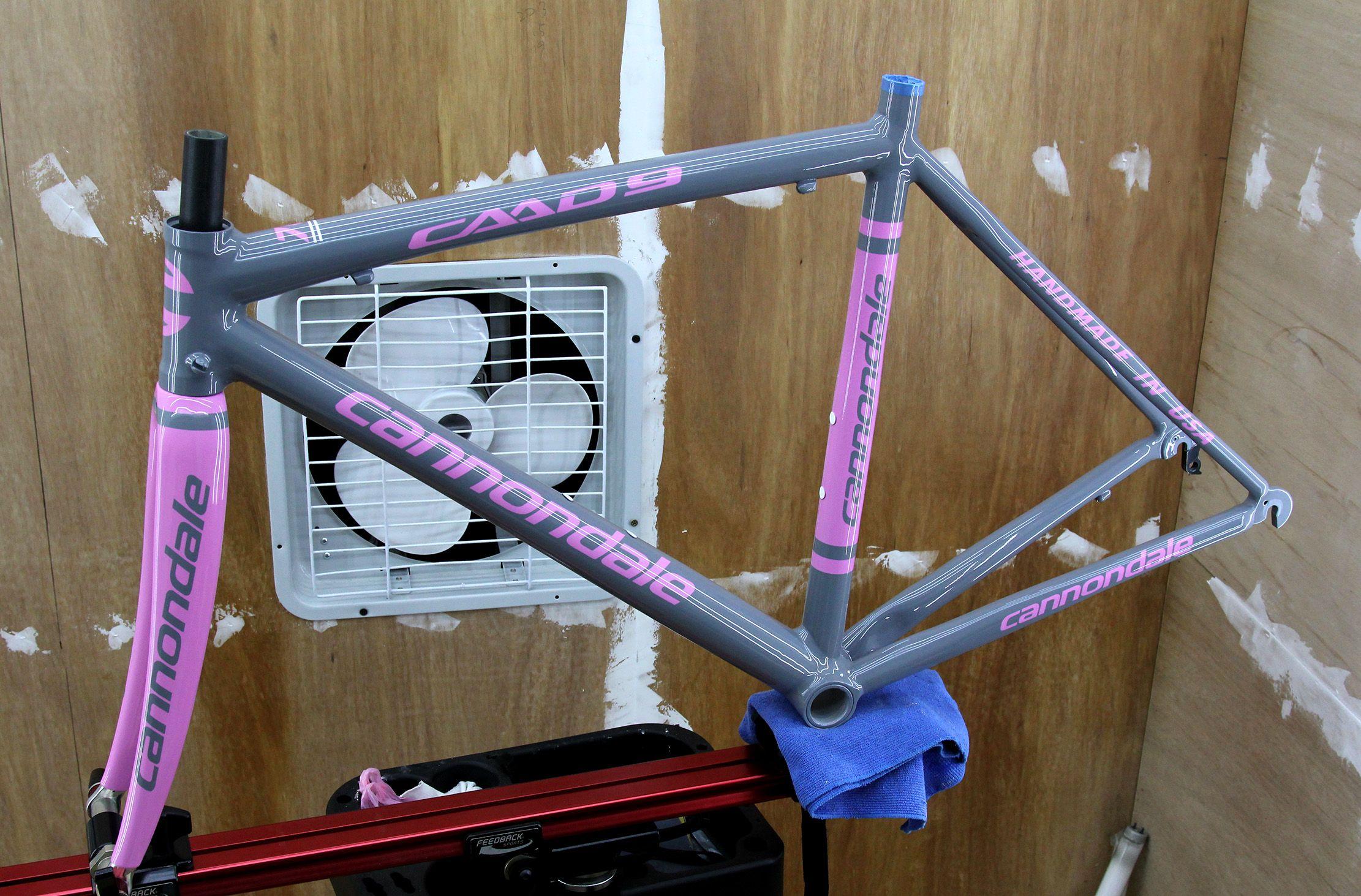 Cannondale Caad9 Respray Pintura Para Bicicletas Pinturas