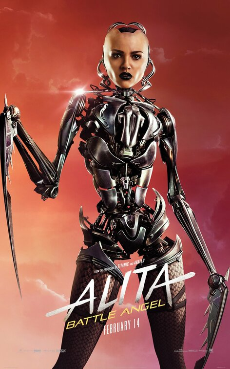 Click to View Extra Large Poster Image for Alita Battle