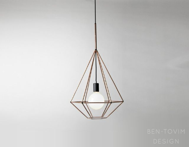 Rough Diamond Pendant Lamp By Jonathan Ben Tovim