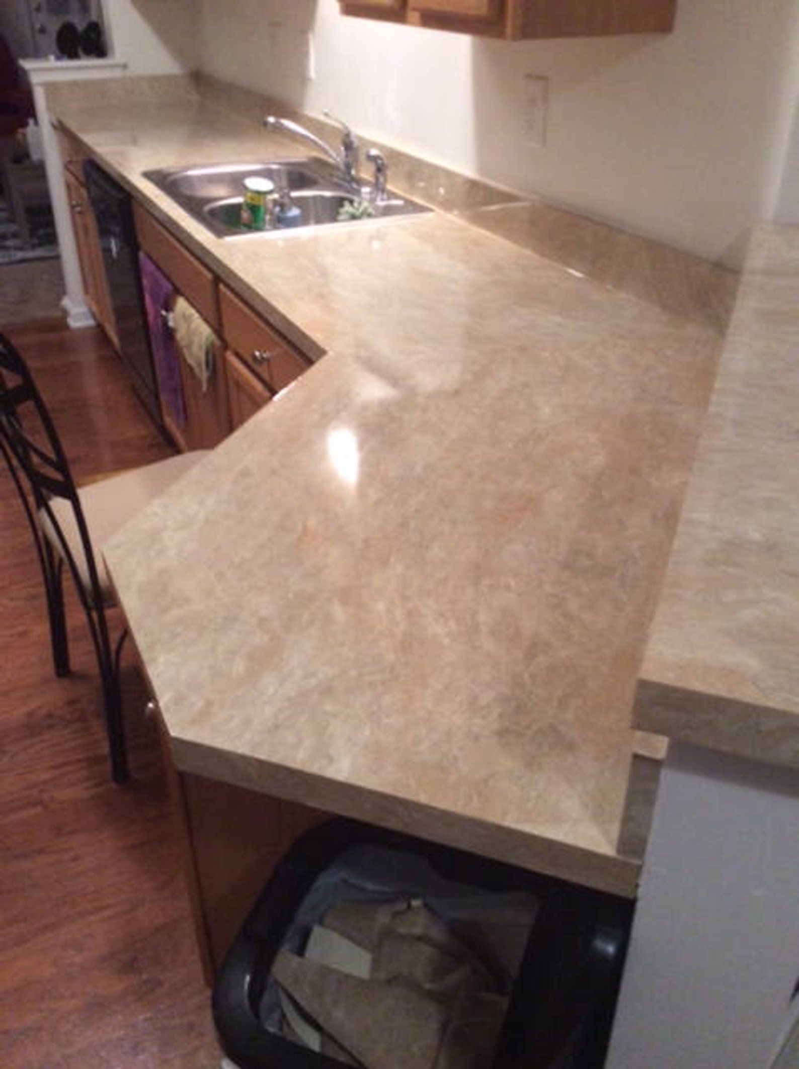 Faux Granite Marble L And Stick Self