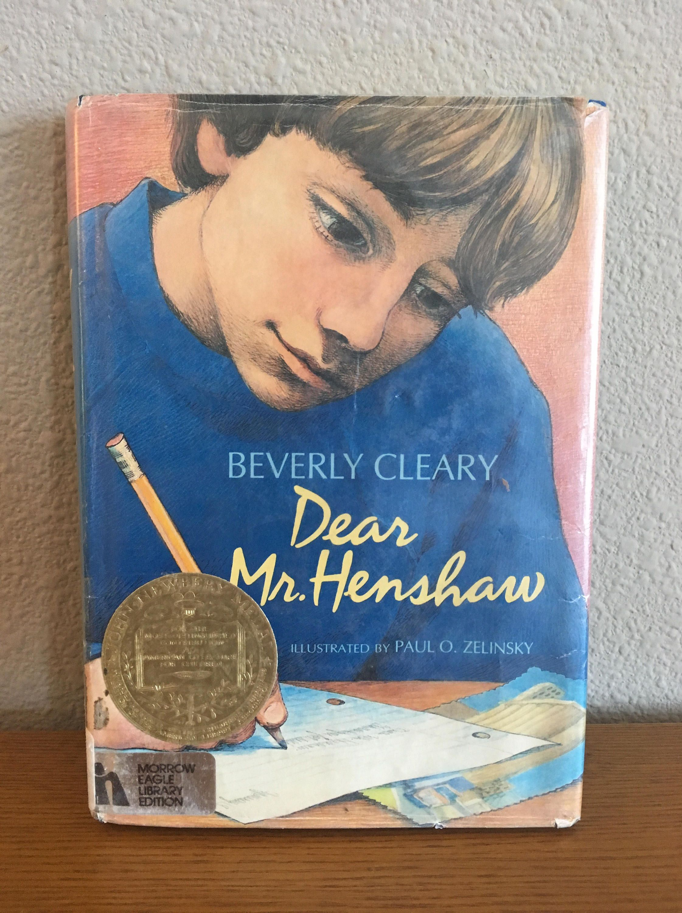 Dear Mr Henshaw By Beverly Clearly Hardcover