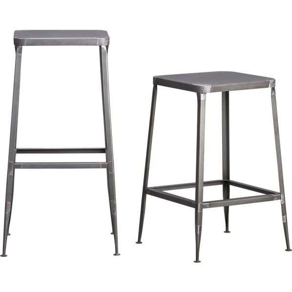 vermont bar stools metal square farm stool chestnut table houzz awesome reclaimed shop