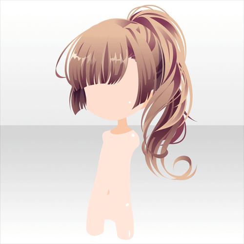 Anime Girl Ponytail: ―巡夏― @games -アットゲームズ-