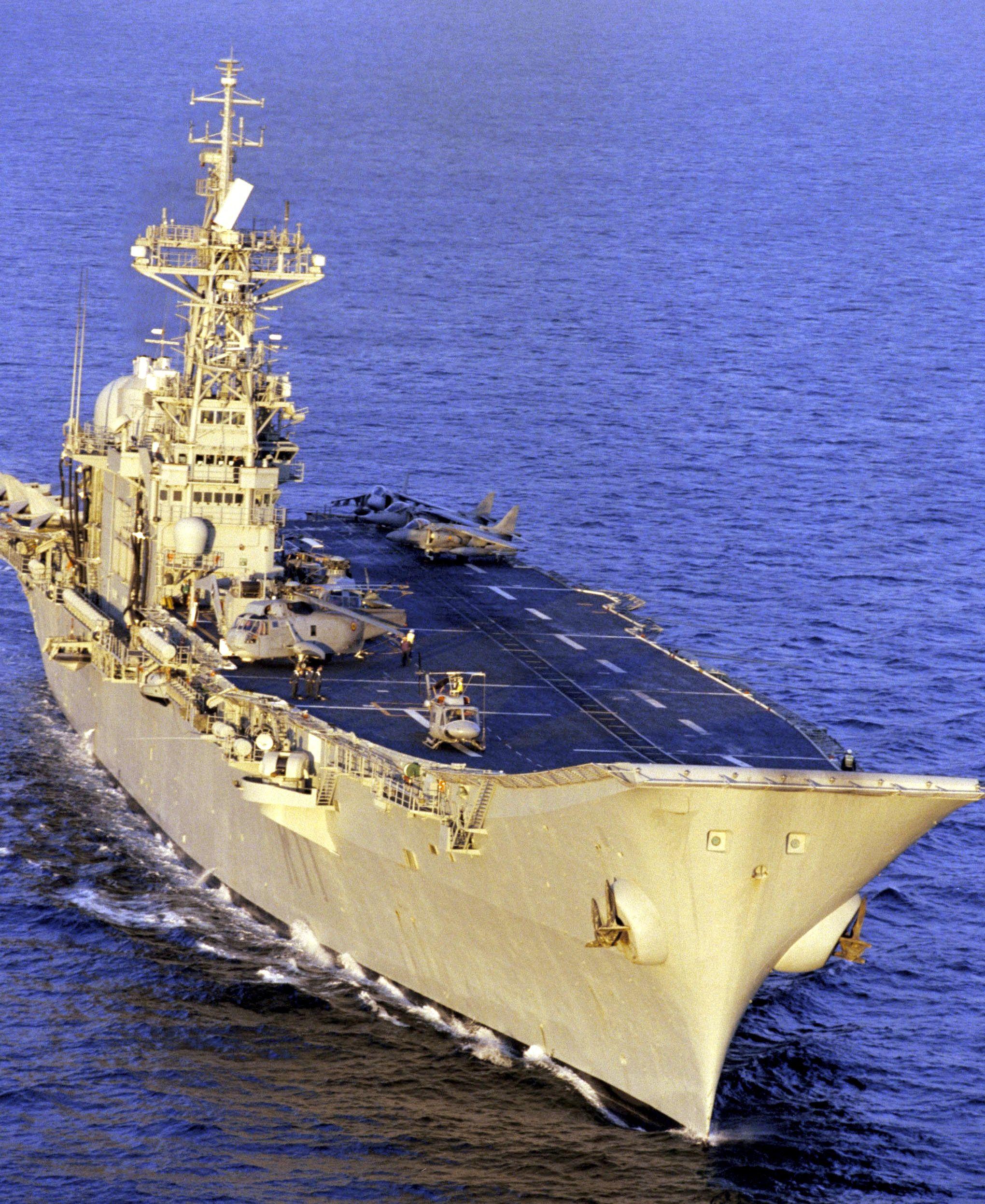 Spanish aircraft carrier Principe de Asturias I re ... Spanish Aircraft Carrier News