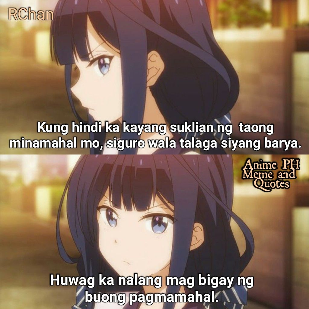 Anime Quotes About Love Tagalog