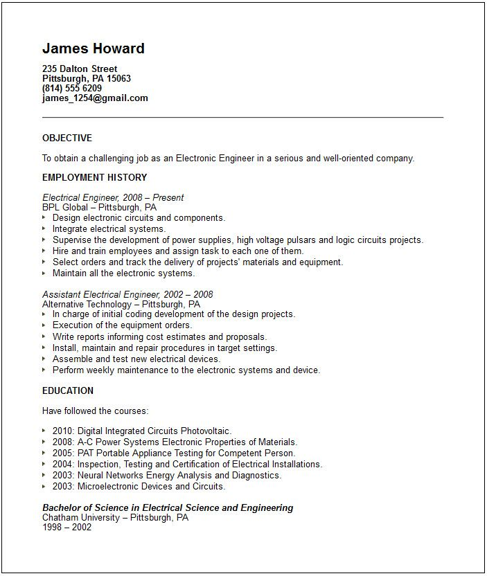 Free Resume Templates Seek 3-Free Resume Templates Sample resume