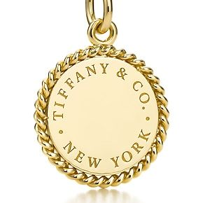 This is adorable!  I love it in the gold! #Tiffany