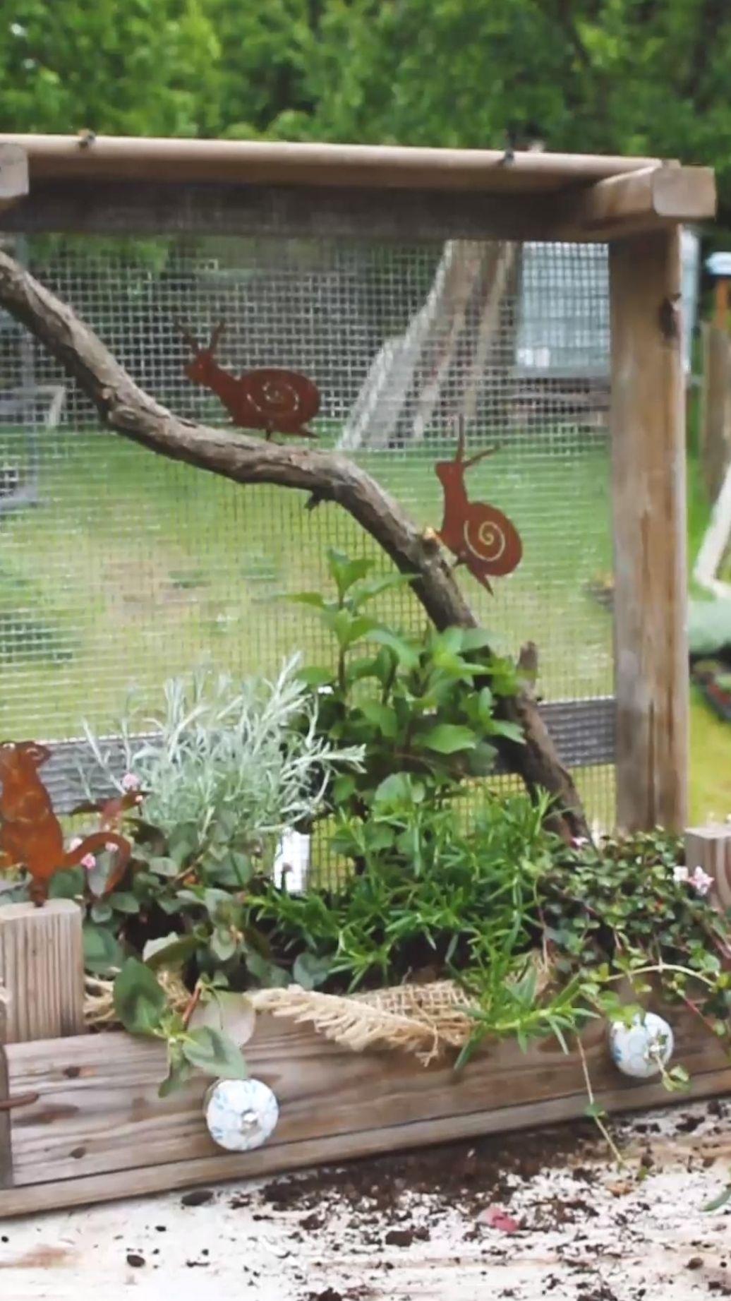 DIY - Kiste bepflanzen