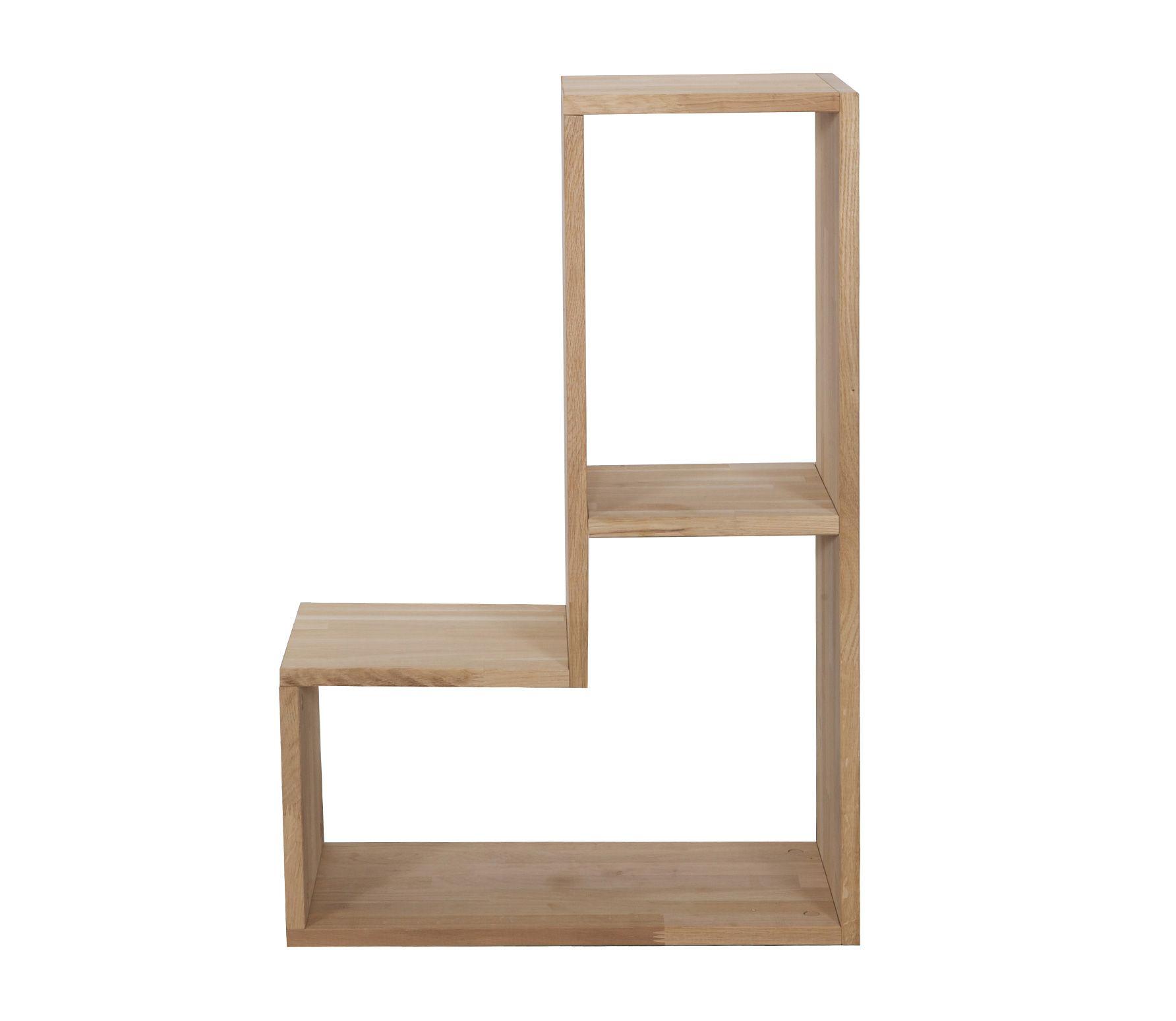 Woood Tetris Losse Set T.b.v. Stapelkast Eiken   1 Elementenset Eiken Amazing Ideas
