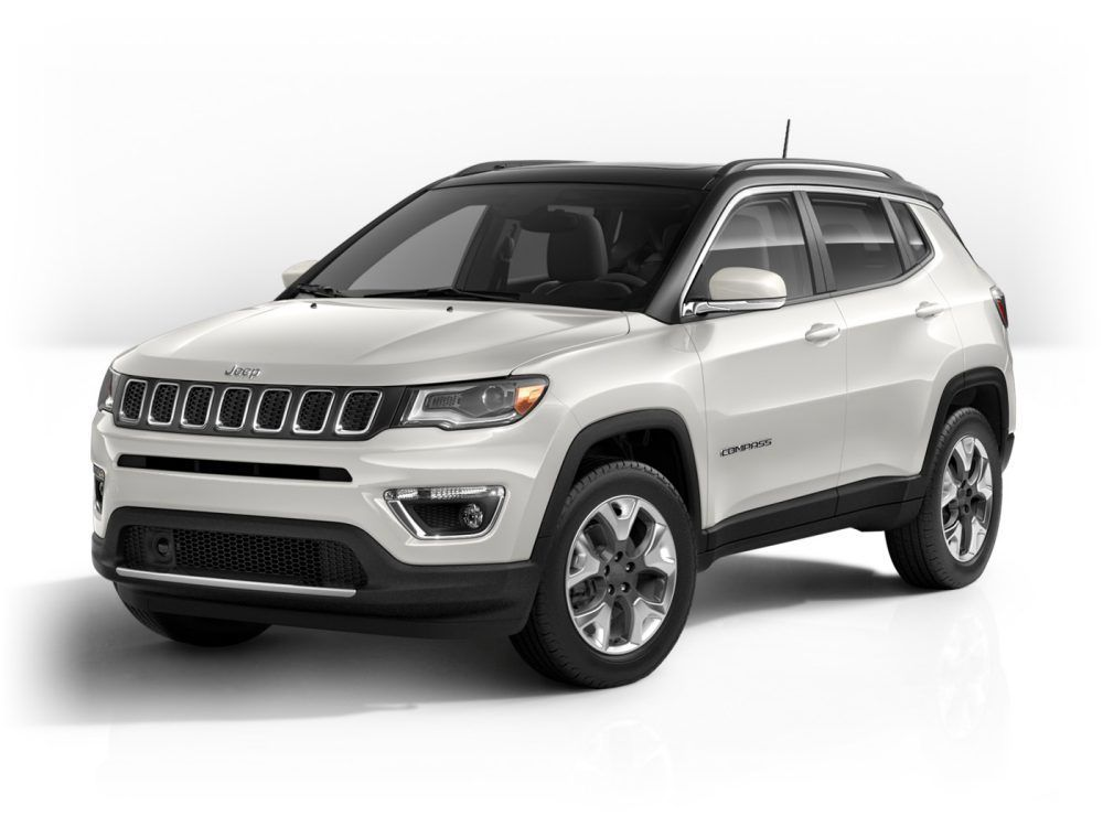 All New Jeep Compass Limited In Pearl White Jeep Compass Limited Jeep Compass 2017 Jeep Compass