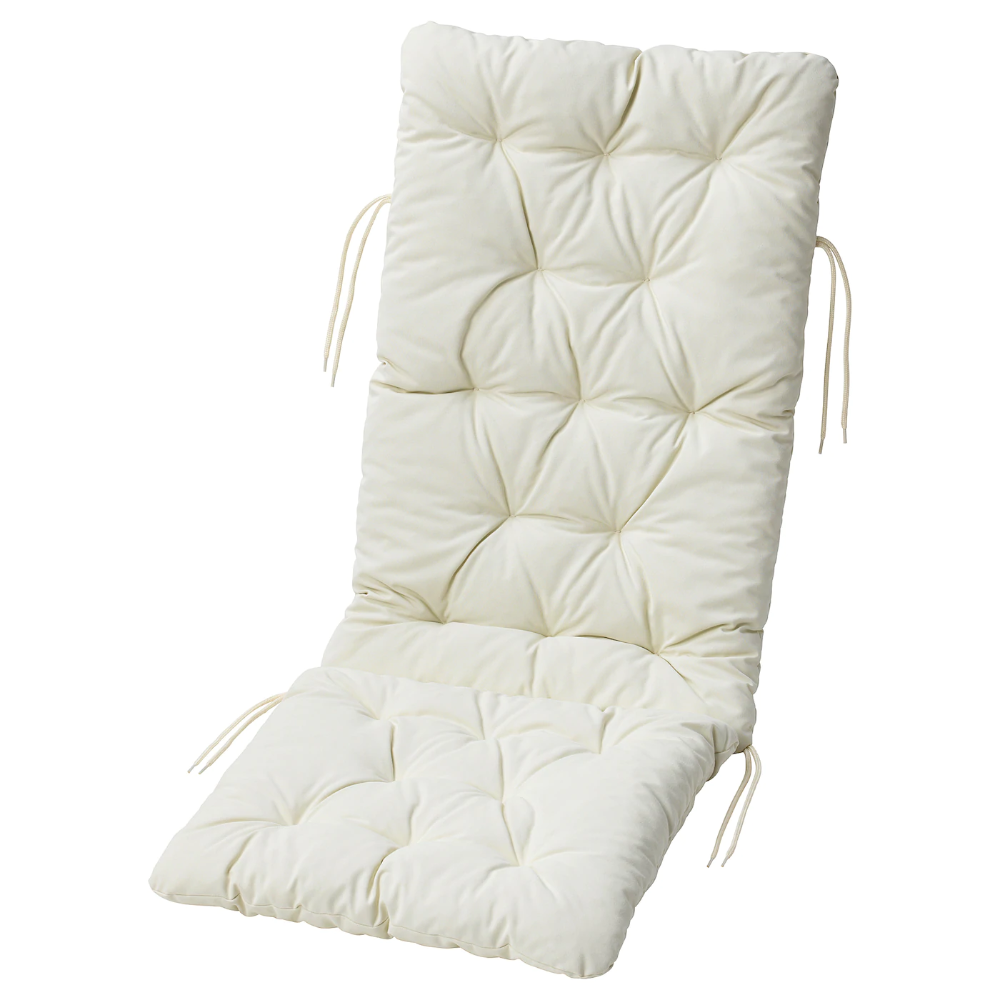 Kuddarna Seat Back Pad Outdoor Beige 45 5 8x17 3 4 Ikea In 2020 Outdoor Seat Cushions Ikea Outdoor Cushions