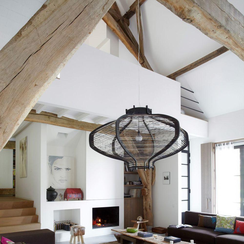 Une Ancienne Grange Renovee En Un Loft Bien Charpente Grange