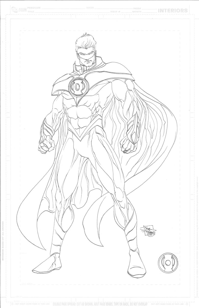 Earth 2 Alan Scott Green Lantern final version character