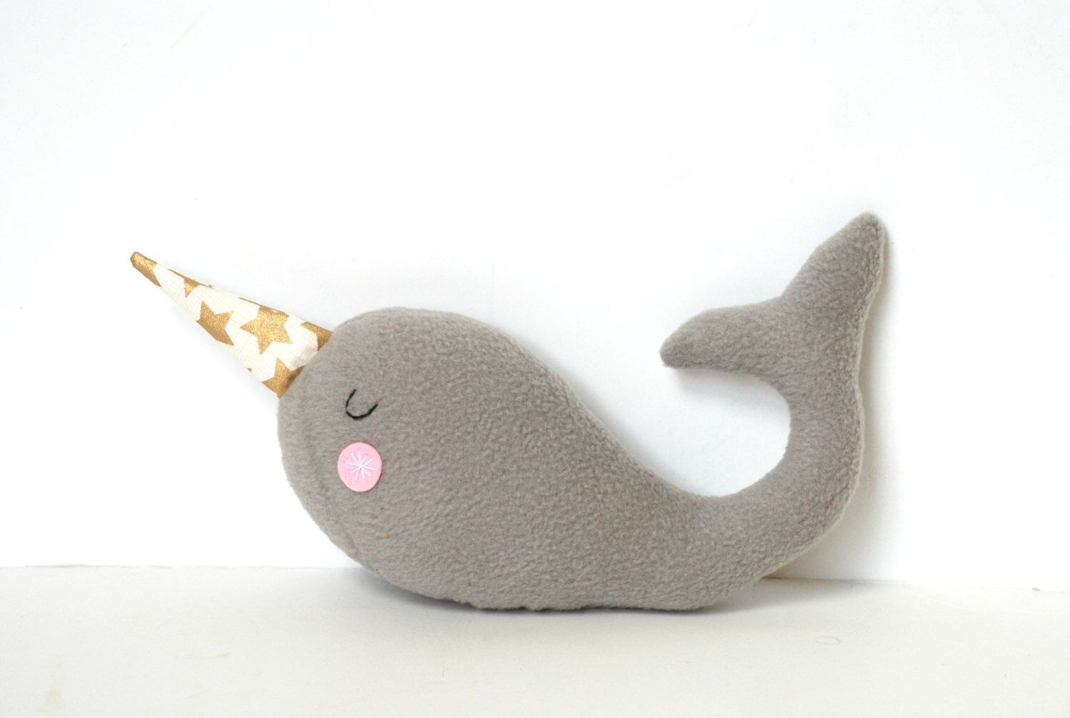 Plush Narwhal Unicorn of the Sea Narwhal Softie for