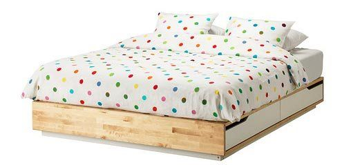 The Best Storage Beds Bed Frame With Storage Ikea Mandal Bed