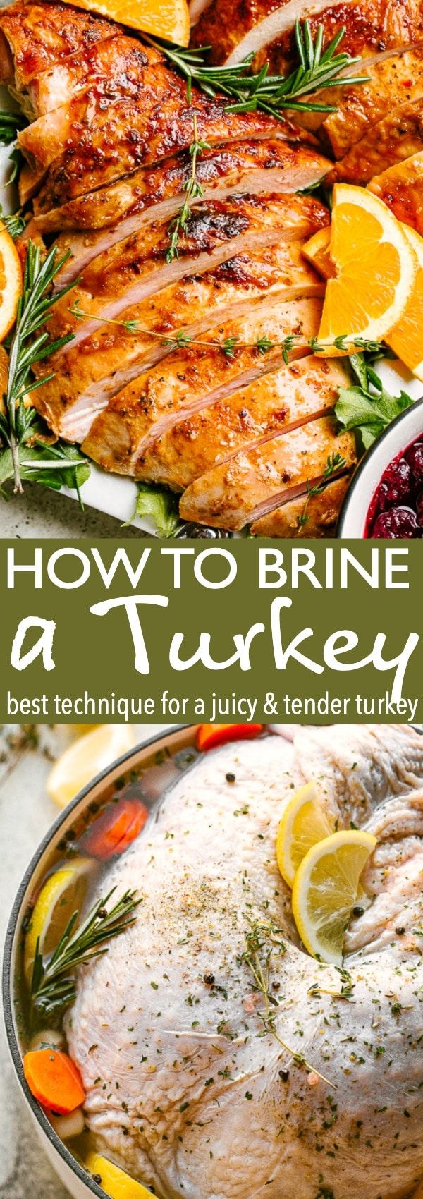 Photo of EASY Turkey Brine Recipe for the Most Flavorful Turkey of Your Life!