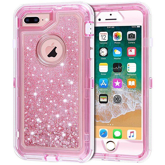 newest e4204 750fd iPhone 8 Plus Case, iPhone 7 Plus Case, Anuck 3 in 1 Hybrid Heavy ...