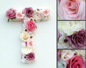 Items Similar To Large 16 Quot Paper Mache Floral Letter