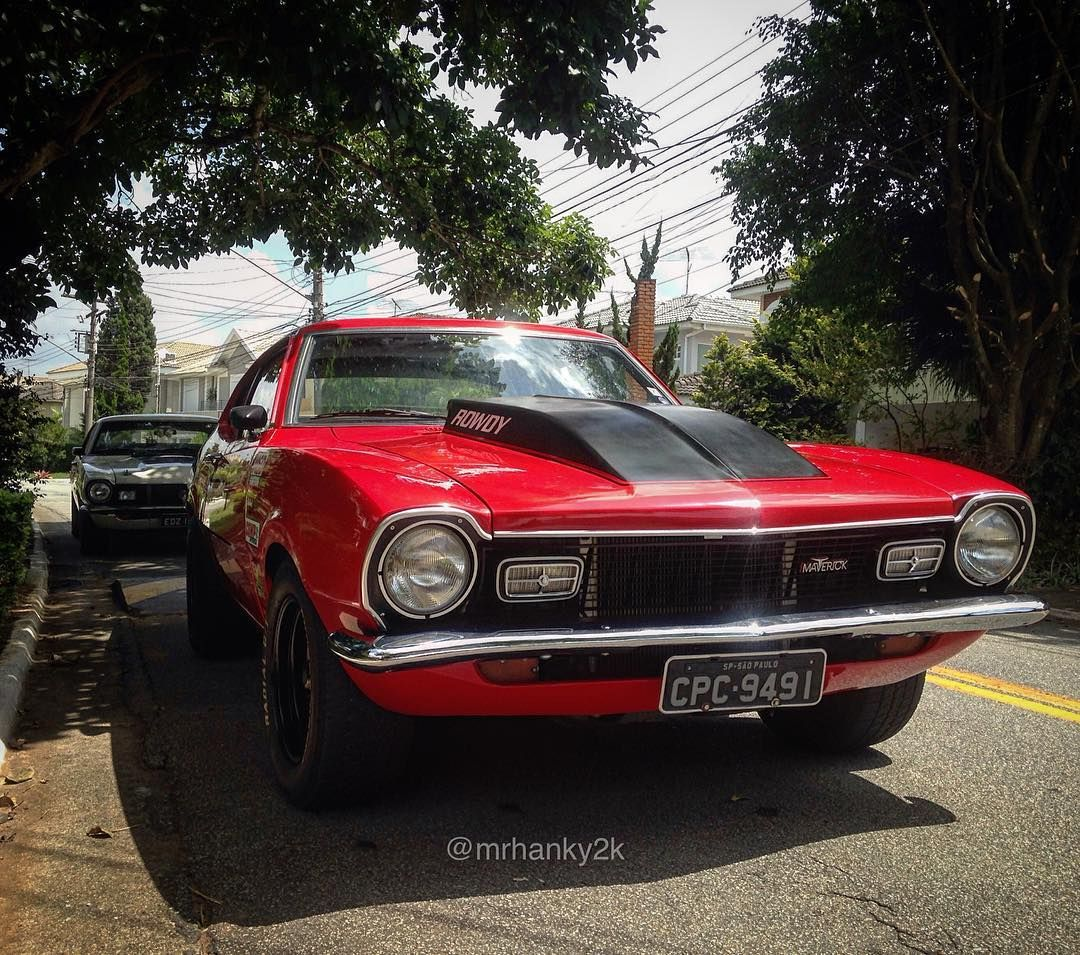 Pin By Alan Case On Ford Maverick Pinterest 1972 Wiring Harness Kits Old Garage Instagram Rowdy Do Diegohgomes Muscle Fordmaverick Performance School Fords