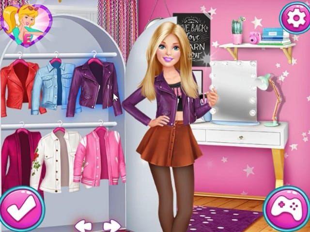 Barbie De Vestir Juegos