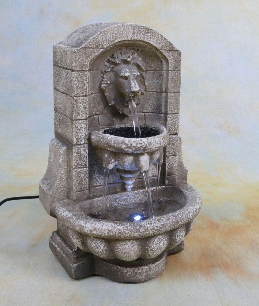 Zimmerbrunnen Springbrunnen Wasserwand Tischbrunnen Led Brunnen Mini Lowe Dw08 A Tischbrunnen Zimmerbrunnen Springbrunnen