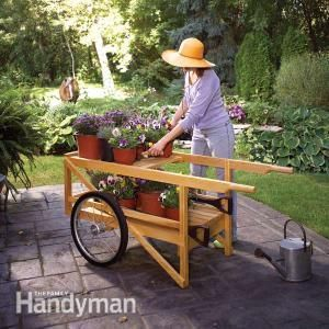 Construct A Classic Wooden Cart: Build Your Own Garden Cart For Hauling  Everything From Bags
