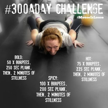 #300aDAY December Challenge is on! Are YOU ready? #decemberchallenge