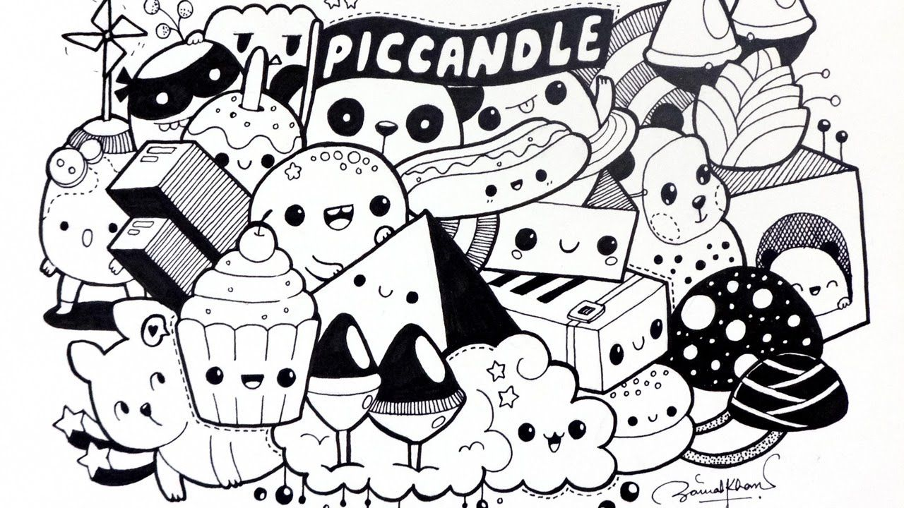 10 keren abis gambar among us doodle