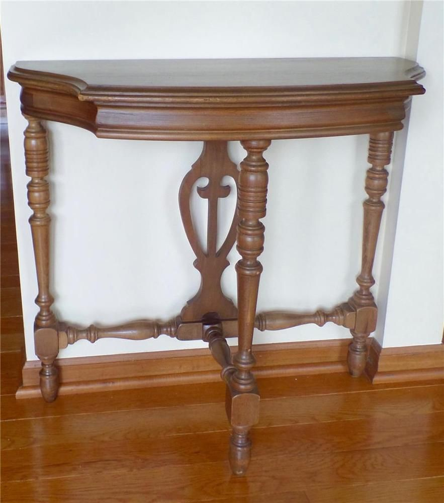 Furniture Co Usa Demilune 3 Legged Half