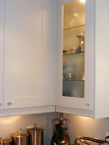 Upper Blind Corner Closed Cabinet White Kitchen