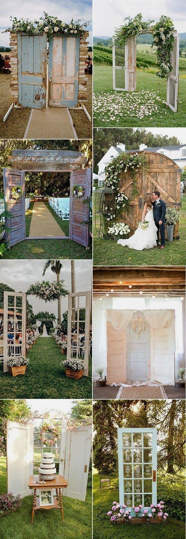 New Rustic Wedding Decoration Ideas #weddingdecoration ...