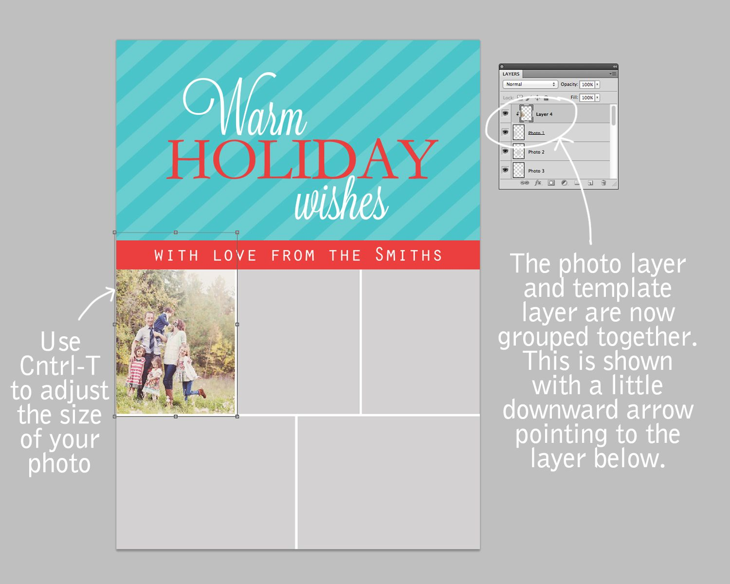 2012 Christmas Card Templates (With images)