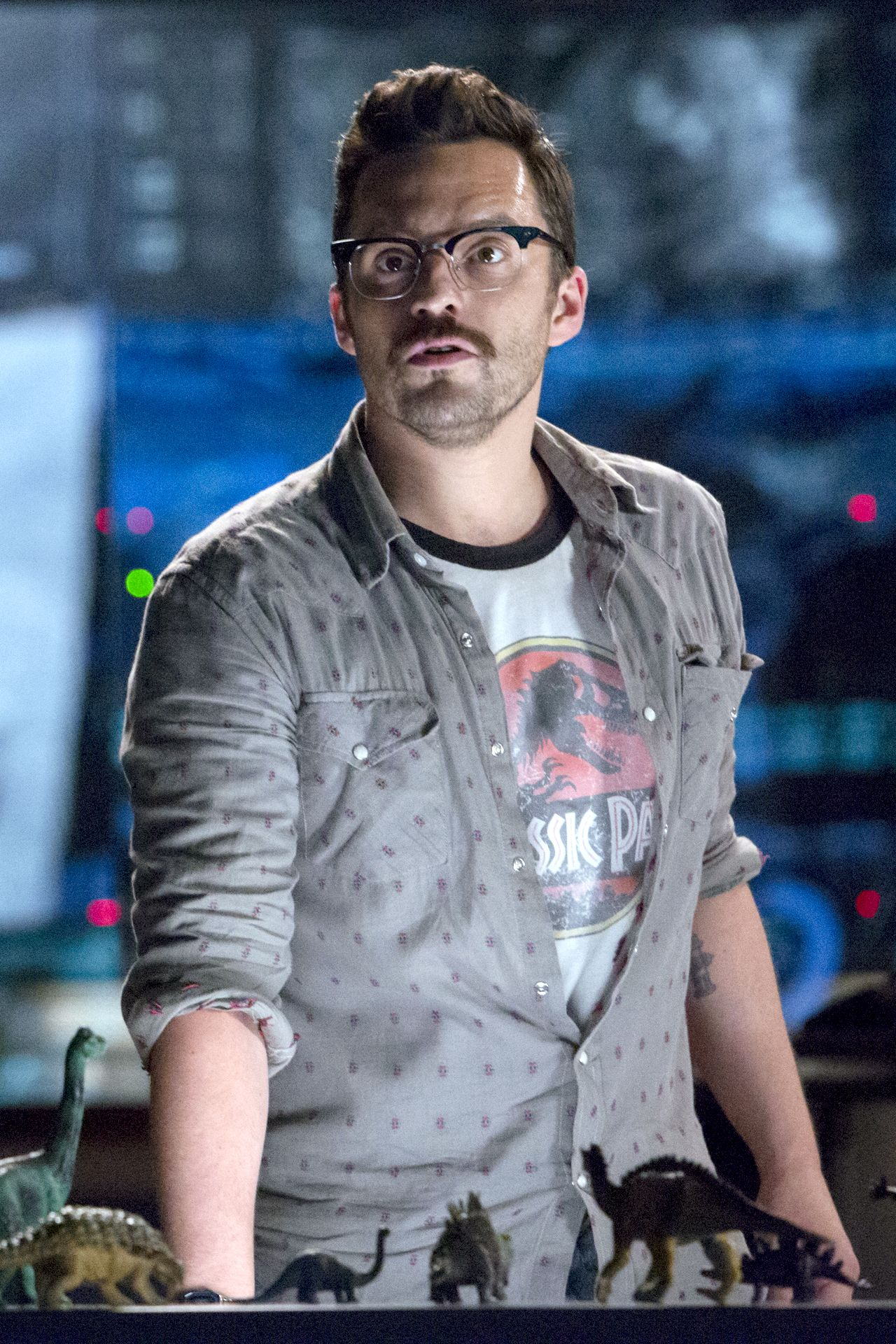 The Fantastic Faces of Nick Miller : Photo | Jurassic park ...