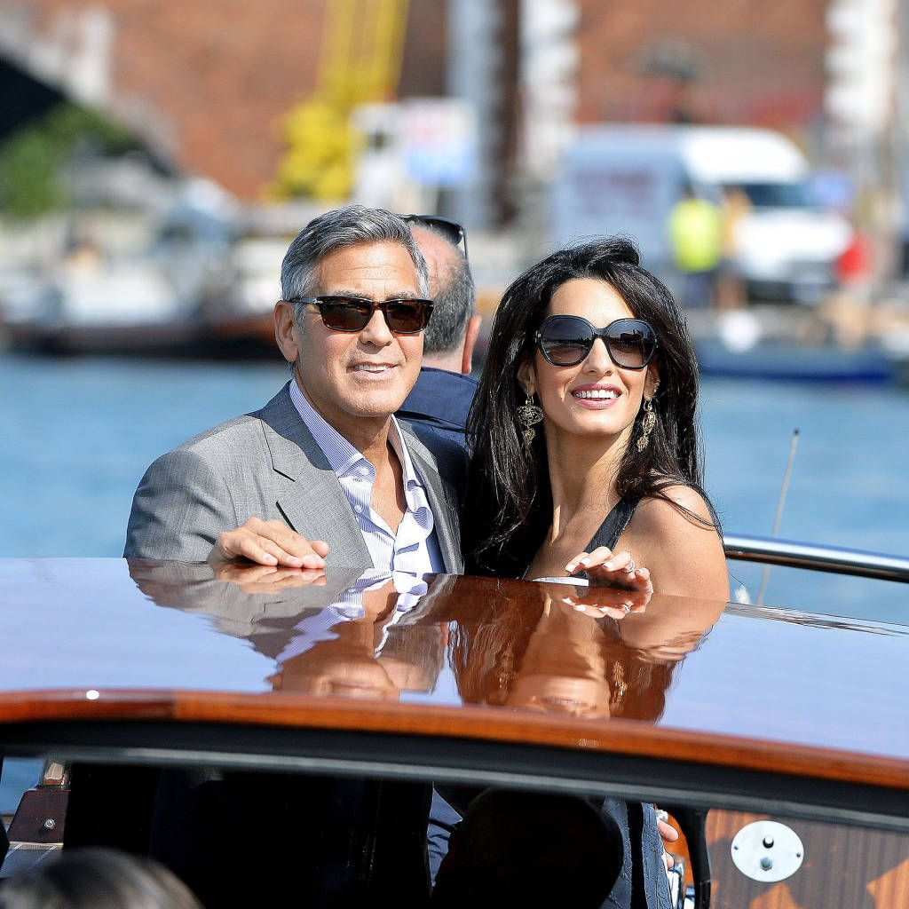 George & Amal's Wedding In Pictures