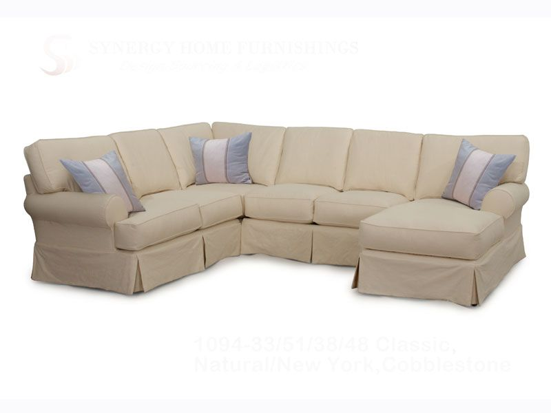 Stupendous Conover Ii 3 Or 4 Pc Slipcover Sectional Possible Interior Design Ideas Inamawefileorg