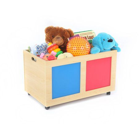 Tot Tutors Primary Focus Rolling Toy Box Assorted