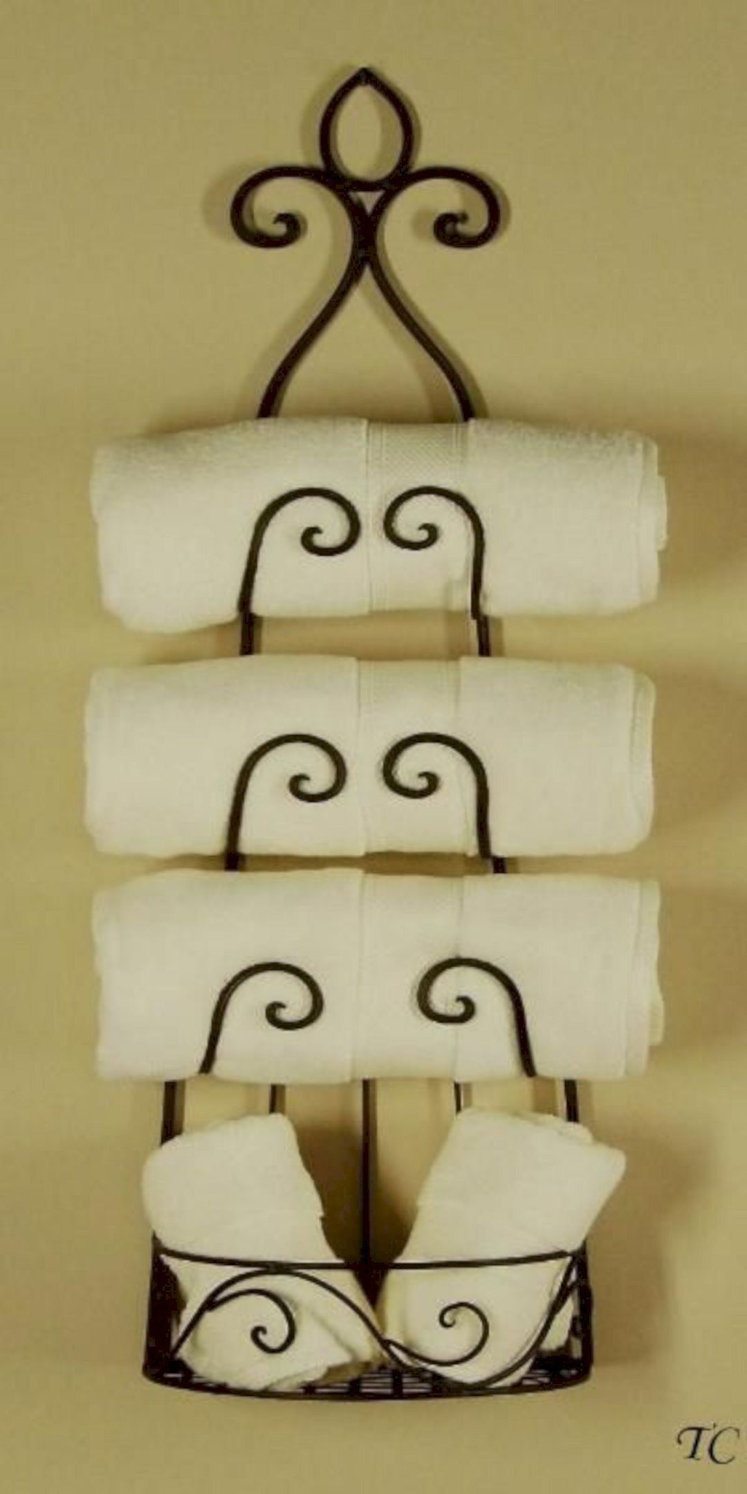 10 Superb Iron Wall Decorations Wine Rack Towel Holder Wine
